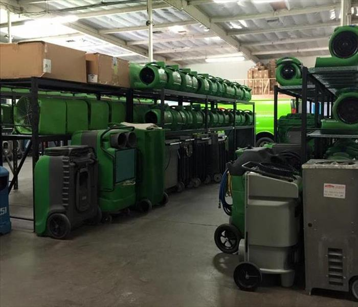 Building Services SERVPRO of Whittier moved!